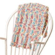Bernat Ripple Effect Crochet Blanket