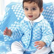 Bernat Boy's Cardigan, 6 months
