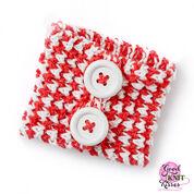 Bernat Peppermint Knit Mug Hug & Jar Hug Gift Set