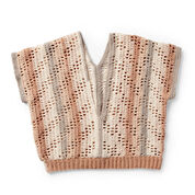 Caron Summer Breeze Crochet Top, XS/S/M