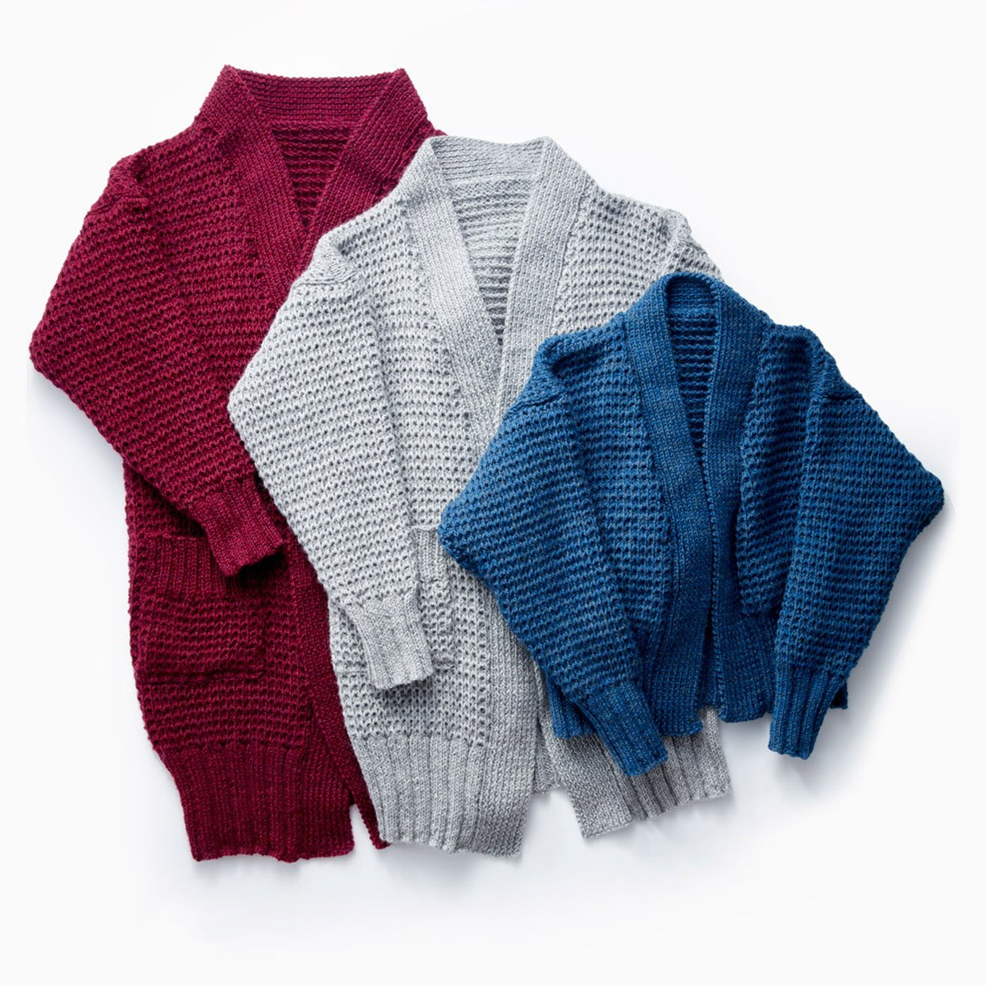 Knitting Websites Canada : Patons long weekend knit cardigan lo xs s