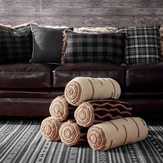 Bernat Crochet Timber Pillows, Oak