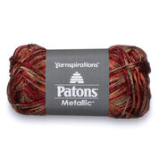 Patons Metallic Variegates Yarn, Copper Alloy - Clearance Shades*