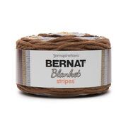 Bernat Blanket Stripes Yarn (300g/10.5 oz), Sand Dunes