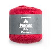 Patons Silk Bamboo Yarn, Rouge - Clearance Shades*
