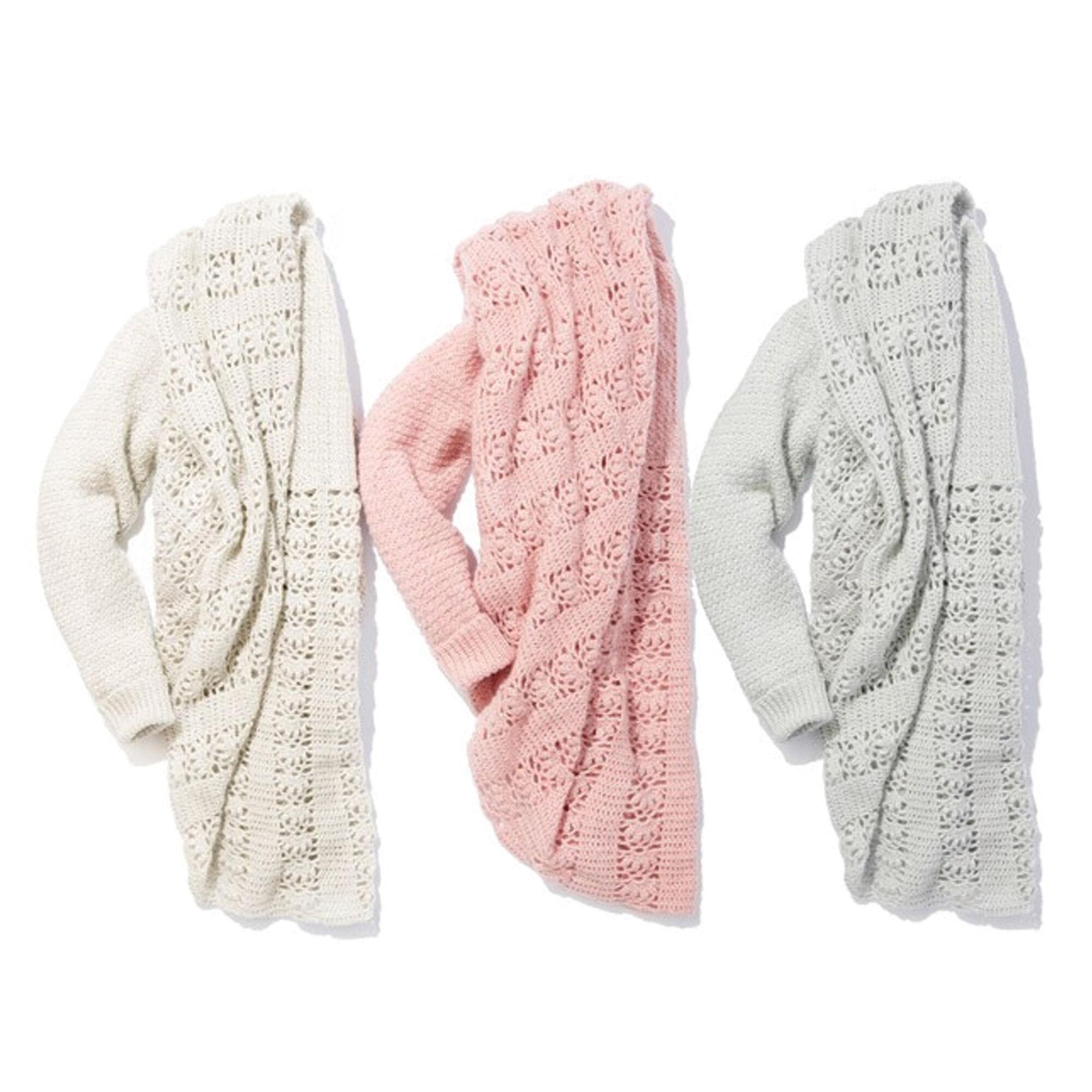 Patons Romantic Wrap, Gray - XL/2XL Pattern | Yarnspirations