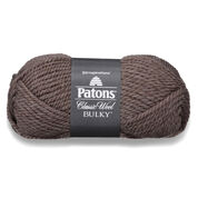 Patons Classic Wool Bulky Yarn, Heath Heather