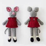 Patons Country Mouse Doll