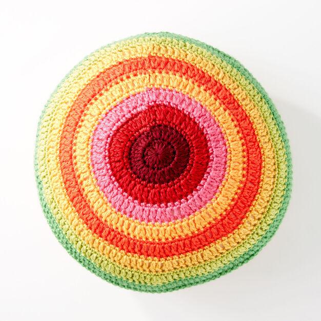 Caron Color Wheel Pillow