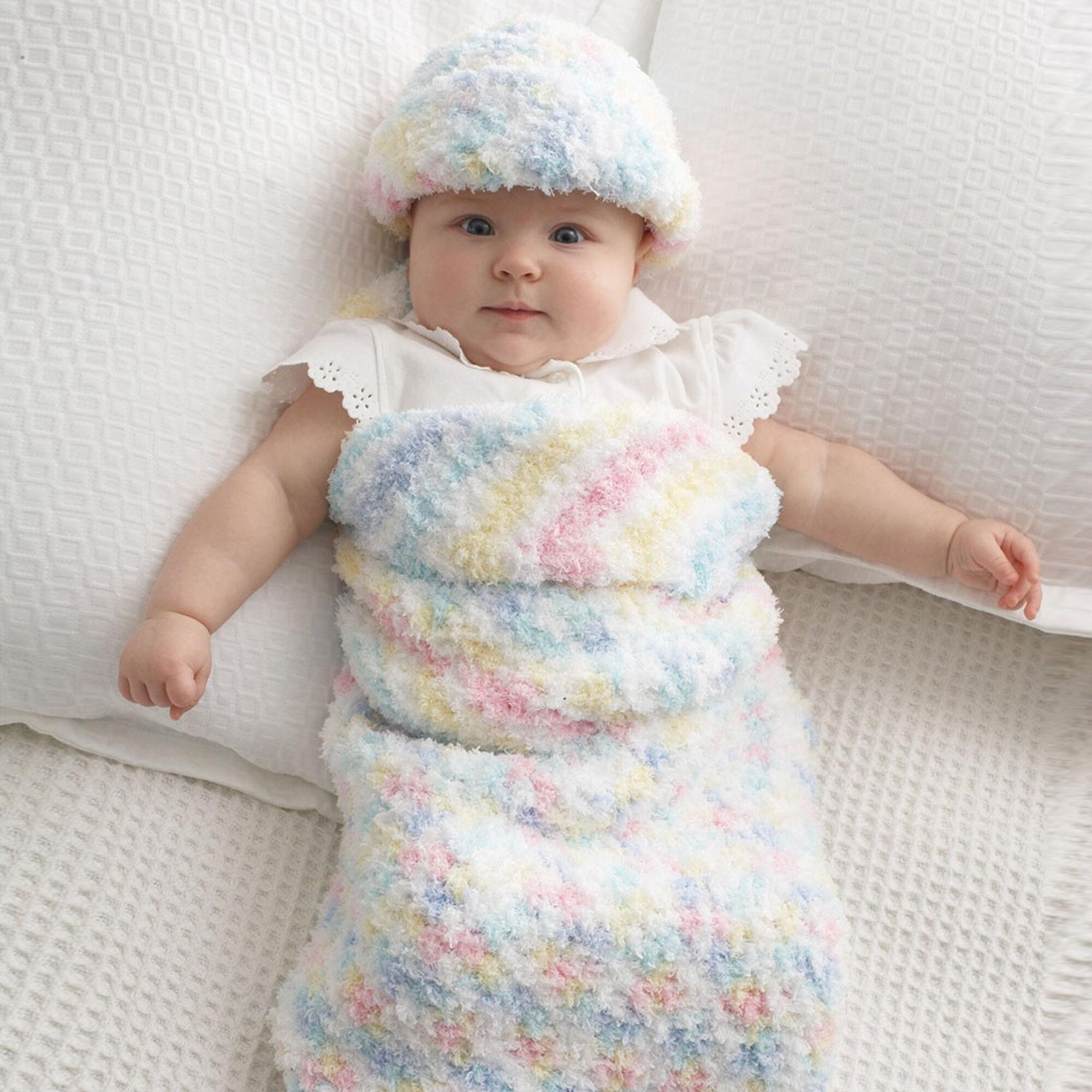 Bernat Baby Cocoon and Hat | Yarnspirations