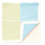 Bernat Pastel Stripe Baby Blanket