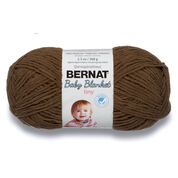 Bernat Baby Blanket Tiny Yarn, Brown Bear