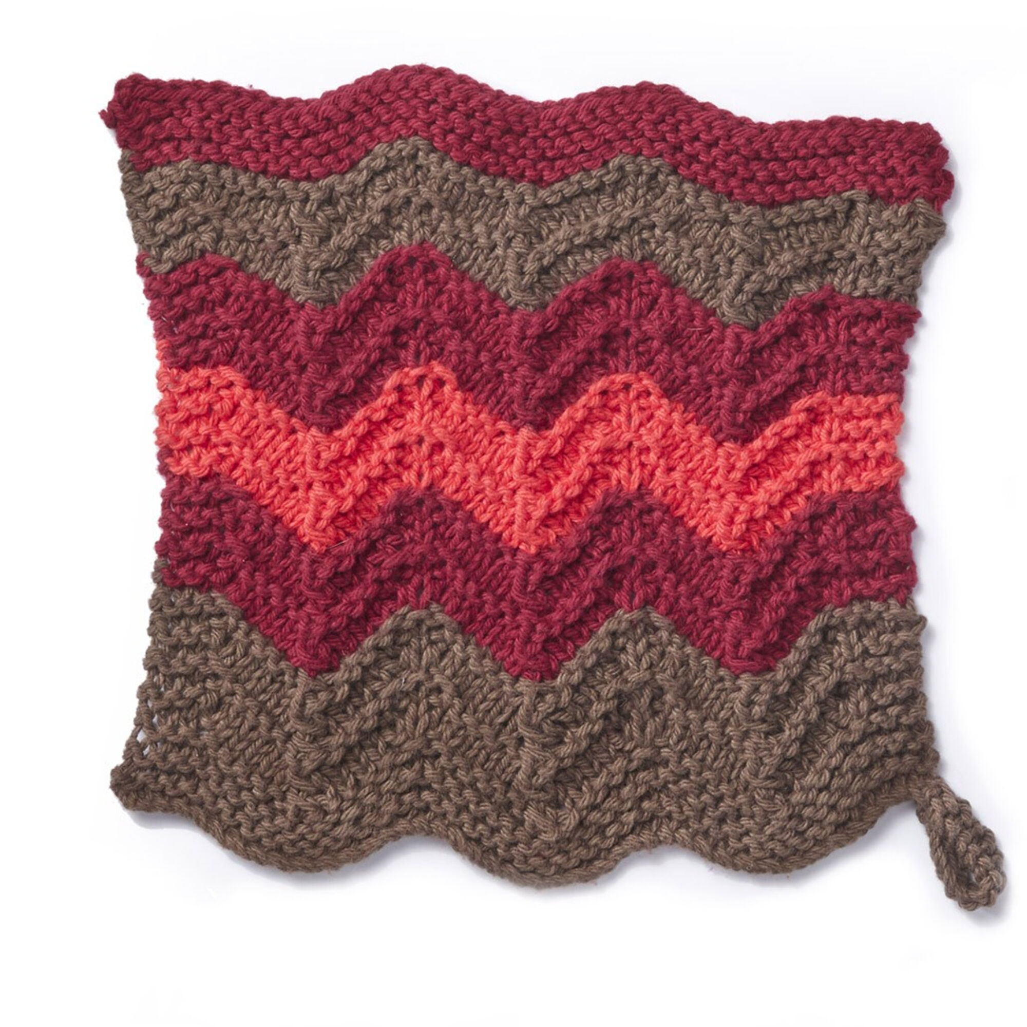 Lily Sugar\'n Cream Changing Colours Knit Dishcloth | Yarnspirations