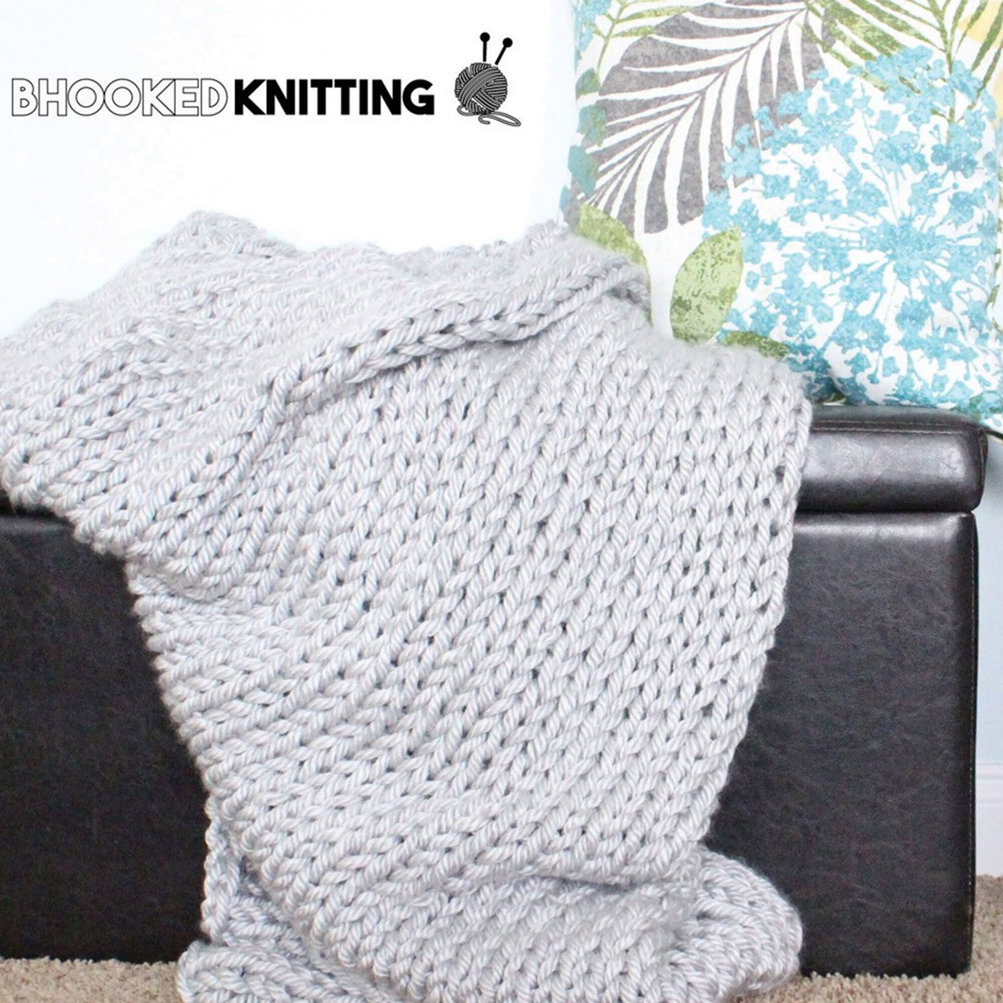Bernat Mega Knit Throw | Yarnspirations