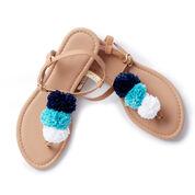 Patons Pompom Sandals