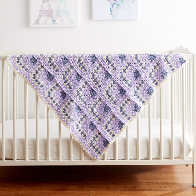 Bernat Building Blocks Crochet Blanket