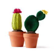 Lily Sugar'n Cream Crochet Cacti, Version 1