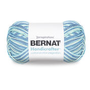 Bernat Handicrafter Cotton Variegates Yarn, Meadow Ombre