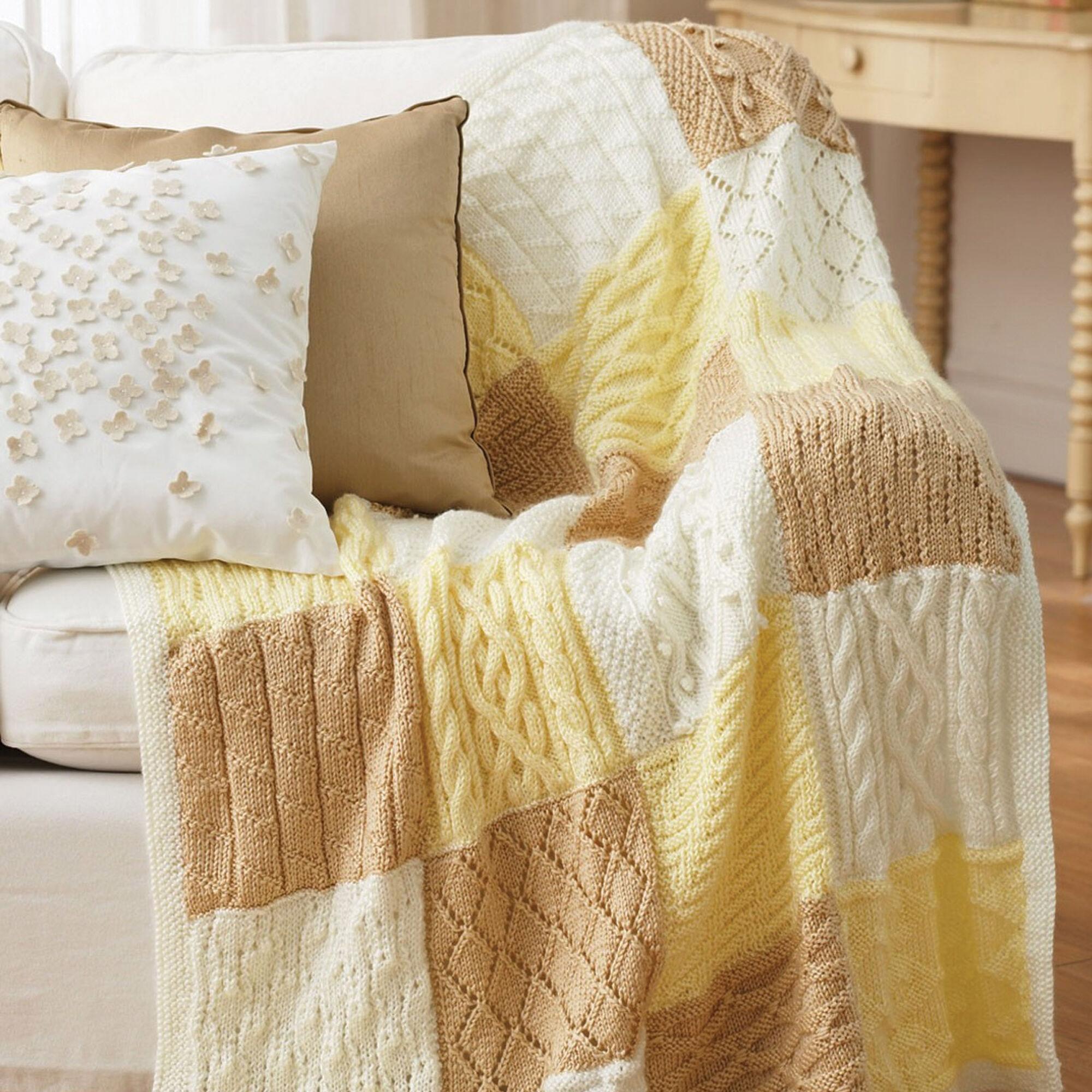 Bernat Mystery Afghan Knit-Along Pattern   Yarnspirations