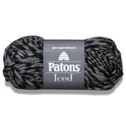 Patons Iced Yarn, Graphite