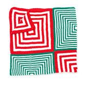 Bernat Mitered Christmas Blanket