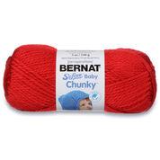 Bernat Softee Baby Chunky Yarn (140g/5oz), Candy Apple Red - Clearance Shades*