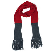 Patons Double Dipper Knit Scarf