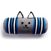Lily Sugar'n Cream Knit Kitty Bolster