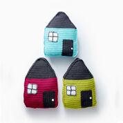 Caron Cozy Cottage Crochet Pillow, Chatreuse