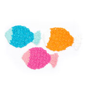Lily Sugar'n Cream Tropical Fish Dishcloth, Pink