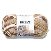 Bernat Home Bundle Yarn, Cream/Taupe - Clearance Shades*