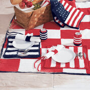 Lily Sugar'n Cream Roll and Go Placemats