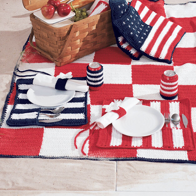 Lily Sugar N Cream Roll And Go Placemats Yarnspirations