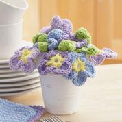 Lily Sugar'n Cream Pansy Bouquet