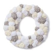 Bernat Pompom Wreath