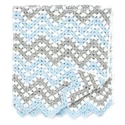 Bernat Ripple Waves Crochet Blanket