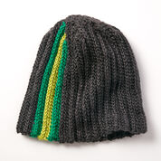 Caron Stripes On The Side Hat