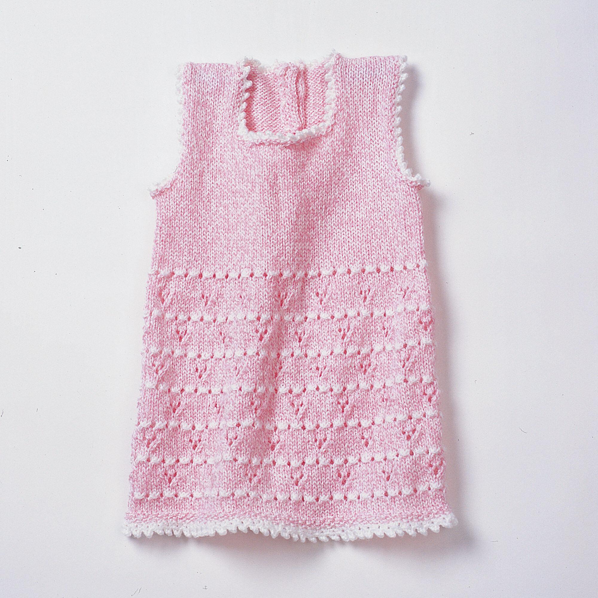 Bernat Party Girl Set Dress 6 months