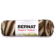 Bernat Super Value Variegates Yarn, Outback Ombre