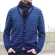 Patons Transitions Cardigan, XS/S