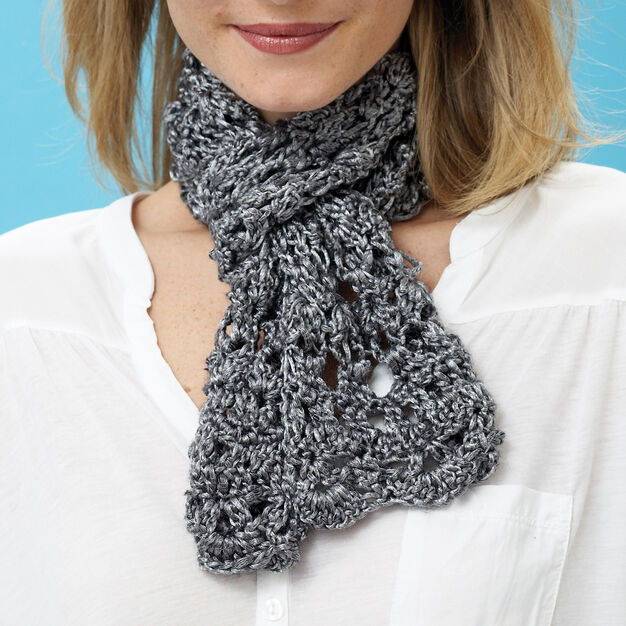 Patons Dazzle Scarf