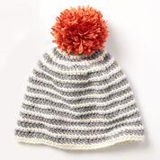 Caron Striped Right Hat