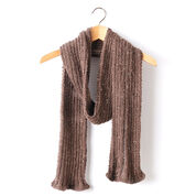 Caron Two By Two Knit Scarf