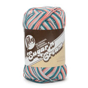 Lily Sugar'n Cream Big Ball Ombres Yarn, Coral Seas