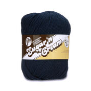 Lily Sugar'n Cream Super Size Yarn, Bright Navy