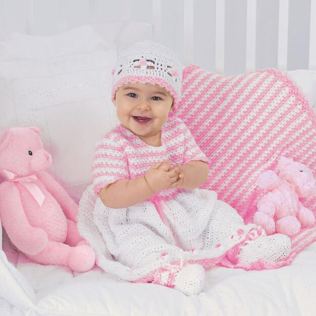 Bernat Sweet Baby Outfit, 6 mos