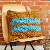 Bernat Simple Stripes Pillow