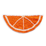 Lily Sugar'n Cream Citrus Slice Crochet Rug