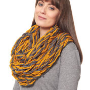 Patons Arm Knit Cowl