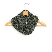 Patons Little Leaf Stripe Cowl